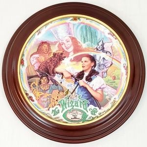 """Collectible 7.5"""" Wizard Of Oz Musical Plate Ltd Ed"""